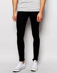 Черные джинсы с покрытием LDN DNM - Черный