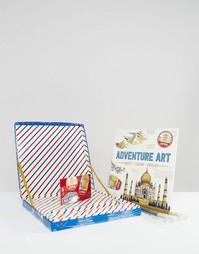 Раскраска и карандаши Travel Art - Мульти Books