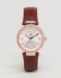 Часы с кожаным ремешком Tommy Hilfiger Lynn 1781588 - Розовое золото