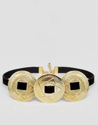 Короткое ожерелье Rock N Rose Melrose - Черный