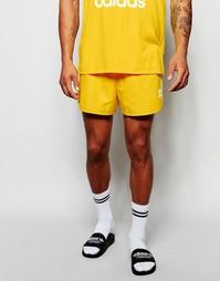 Шорты в стиле ретро adidas Originals AJ6935 - Желтый