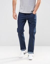 Прямые стретчевые джинсы синего цвета ASOS - Indigo - индиго