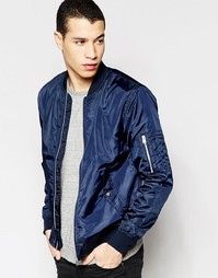 Легкая куртка-пилот Jack & Jones - Темно-синий