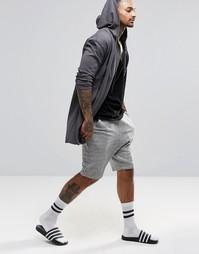 Трикотажные шорты для дома с заниженным шаговым швом ASOS - Серый