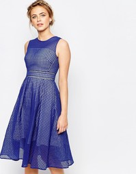 Платье миди Coast Marie Ann - Синий