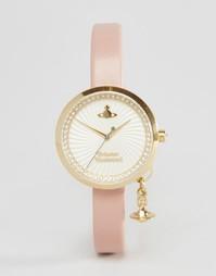 Часы с розовым ремешком Vivienne Westwood VV139WHPK - Розовый