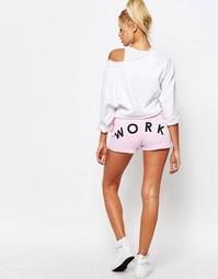 Спортивные шорты с принтом Adolescent Clothing - Розовый