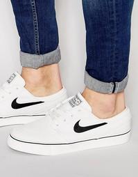 Парусиновые кроссовки Nike SB Zoom Stefan Janoski 615957-100 - Белый