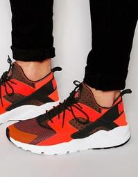 Кроссовки Nike Air Huarache Run Ultra 819685-008 - Черный