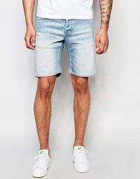 Светлые джинсовые шорты Only & Sons - Светло-голубой