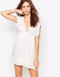 Пляжное платье мини Melissa Odabash - Кремовый