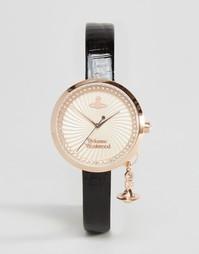Часы с черным ремешком Vivienne Westwood VV139RSBK - Черный
