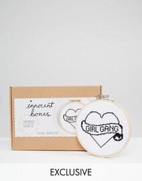 Набор для вышивания крестиком Innocent Bones Girl Gang - Мульти