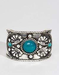 Нарядный браслет-манжета с камнями ASOS - Мульти