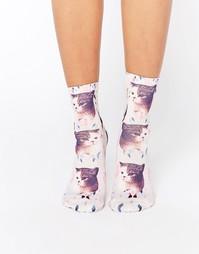Носки с котами Monki - Dreamcat