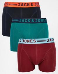 3 пары боксеров-брифов Jack & Jones - Мульти