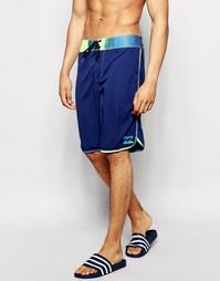 Пляжные шорты 19 дюймов с эффектом выцветания Billabong - Синий