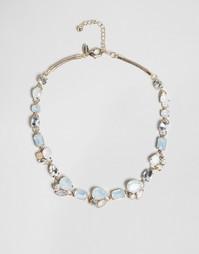 Броское ожерелье с камнем Coast Emily - Розовое золото