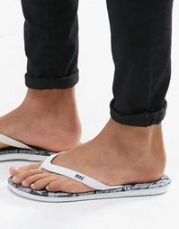 Шлепанцы с перемычкой Nike Solarsoft 511365-164 - Белый