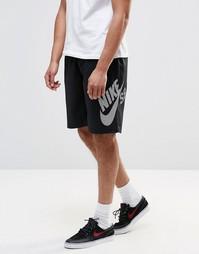 Черные шорты Nike SB Sunday 829374-010 - Черный