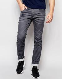 Узкие джинсы Jack & Jones - Серый деним