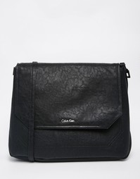Сумка с заклепками на ремешке Calvin Klein - Черный