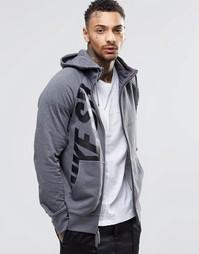 Серое худи Nike SB Everett 810547-071 - Серый