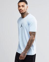 Голубая футболка Nike Jordan 23/7 612198-458 - Синий