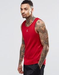Красная майка Nike Jordan Jumpman Buzzer 589114-695 - Красный