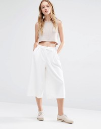 Native Youth Awkward Length Trousers - Белый