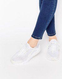 Белые дышащие кроссовки для бега Nike Air Huarache - Белый
