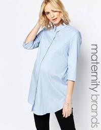 Длинная рубашка Isabella Oliver - Синий