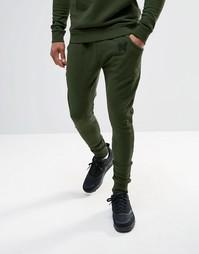 Рваные спортивные брюки Good For Nothing - Зеленый