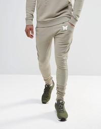 Рваные спортивные брюки Good For Nothing - Бежевый