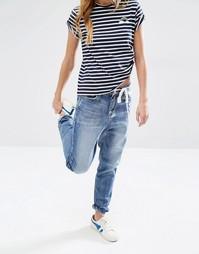 Джинсы в винтажном стиле с необработанным краем Daisy Street