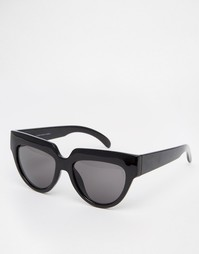 Солнцезащитные очки кошачий глаз Cheap Monday - Черный