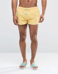 Короткие шорты для плавания Oiler & Boiler Tuckernuck - Желтый