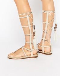 Гладиаторские сандалии с ремешками ALDO - Ice