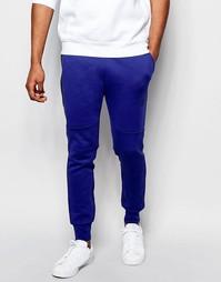 Темно-синие зауженные джоггеры Nike TF 545343-455 - Темно-синий