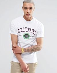 Футболка с логотипом Лиги Плюща Billionaire Boys Club - Белый