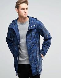 Камуфляжная куртка Parka London Soren - Темно-синий