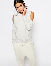 Свитшот с открытыми плечами Missguided - Серый