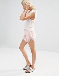Шорты с кружевной отделкой Nocozo - Ballet pink