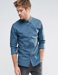 Рубашка с длинными рукавами Selected Sonton - Синий