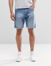 Светлые джинсовые шорты Esprit - Светло-голубой деним