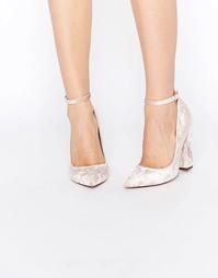 Туфли на высоком каблуке с острым носом ASOS PORTIA - Розовый