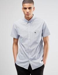 Оксфордская рубашка с короткими рукавами Selected Homme