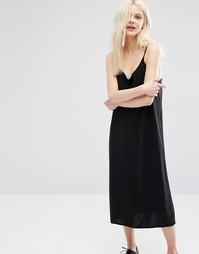 Платье-комбинация Monki - Черный