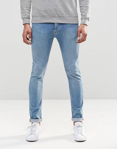 Стретчевые джинсы скинни LDN DNM - Синий