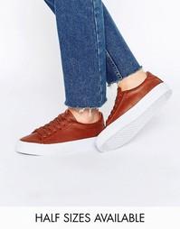Кроссовки на шнуровке ASOS DALLINGTON - Рыжий